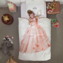 Princess Duvet Set Pure Cotton for Girls Kids Bedding Bedroom