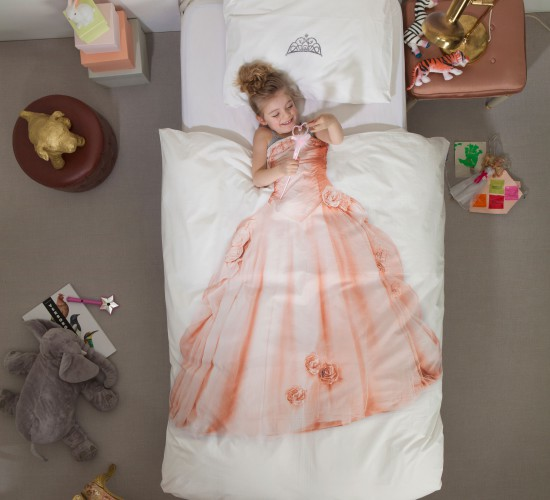 Princess Duvet Set - Pink (Single)