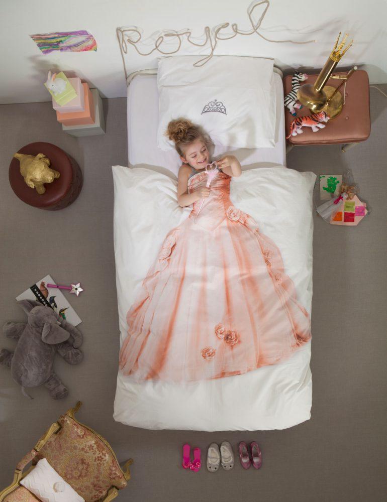 Princess Duvet Set - Pink (Single)