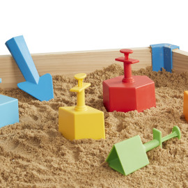 Sandblox Outdoor Fun for Boys and Girls Children Sandpit Beach Toys and Games