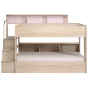 Anderson Bunk Bed with underbed trundle - Acacia