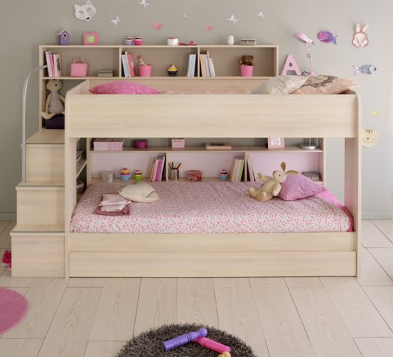 Anderson Acacia Bunk Bed With Truckle For Children In SA