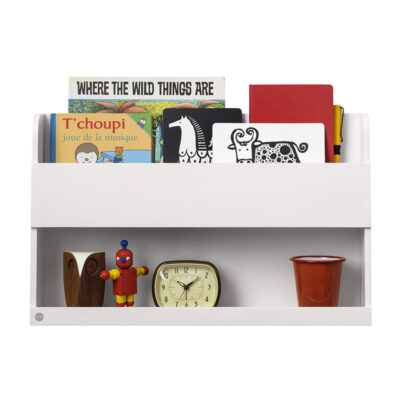 Bunk Bed Buddy Shelf™ - White by Tidy Books®