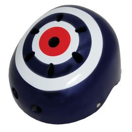 Classic Target Medium Safety Helmet for Children Bikes, Ride Ons Skating
