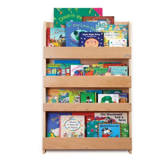 Wooden Bookcase - Natural by Tidy Books®