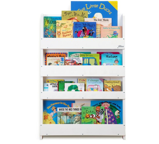 Wooden Bookcase - White by Tidy Books®