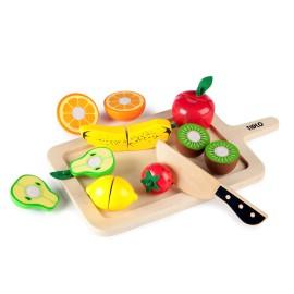 Cutting Fruits Wooden Pretend play toys for Children Tildo by John Crane