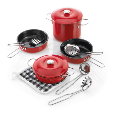 Non Stick Cookware Set Red For Children Amp Kids In S A