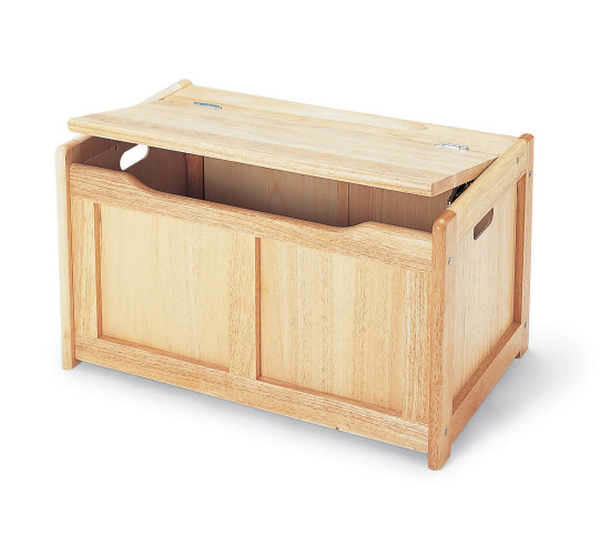 Wooden Toy Chest - Natural for children & kids in S.A.