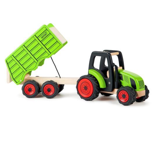 Large Tractor & Trailer Set
