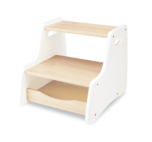 Wooden Step Stool - White  sc 1 st  Nest Designs & Wooden Step Stool - White for children u0026 kids in S.A. islam-shia.org