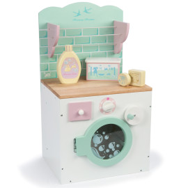 Honeybake Washing Machine from Le Toy Van Pretend Imaginary Play for Children Wooden Toys accessories