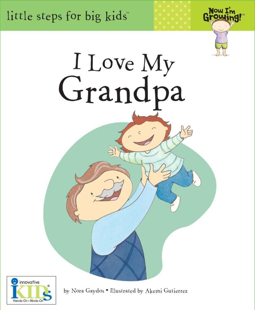 I Love My Grandpa Book