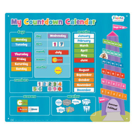 My_Countdown_Calendar_Front_Fiesta_Crafts for Kids Charts and Planners