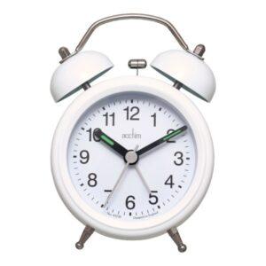 Bell Alarm Clock - White