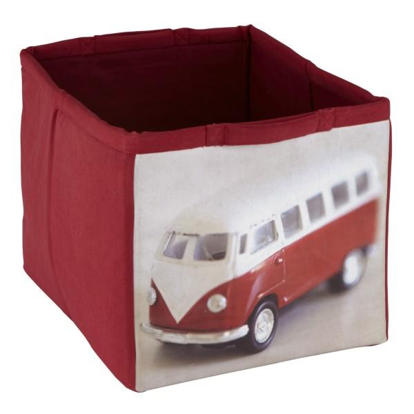 Camper Van Canvas Storage Tote For Kids Toys Get Organised Playroom