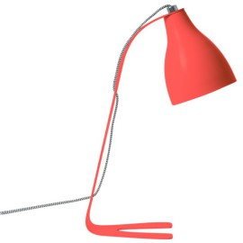 Barefoot Task Lamp Desk Light for Kids Study Lighting Bright Orange Teen