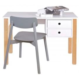 Emery Desk for Kids Solid Wood Homework Study Furniture