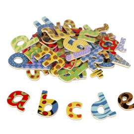 lowercase magnetic alphabet letters by Tidlo fun learning for kids