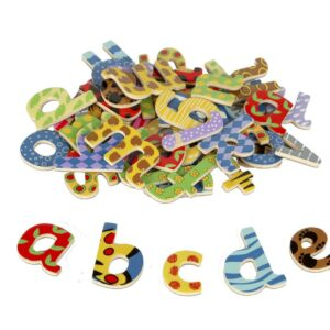 Magnetic Wooden Lowercase Letters