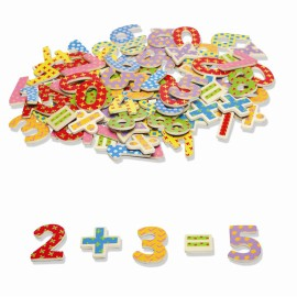 magnetic wooden numbers fun learning for kids Tidlo
