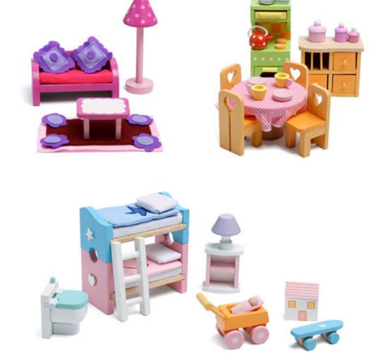Deluxe Starter Dolls House Furniture Set