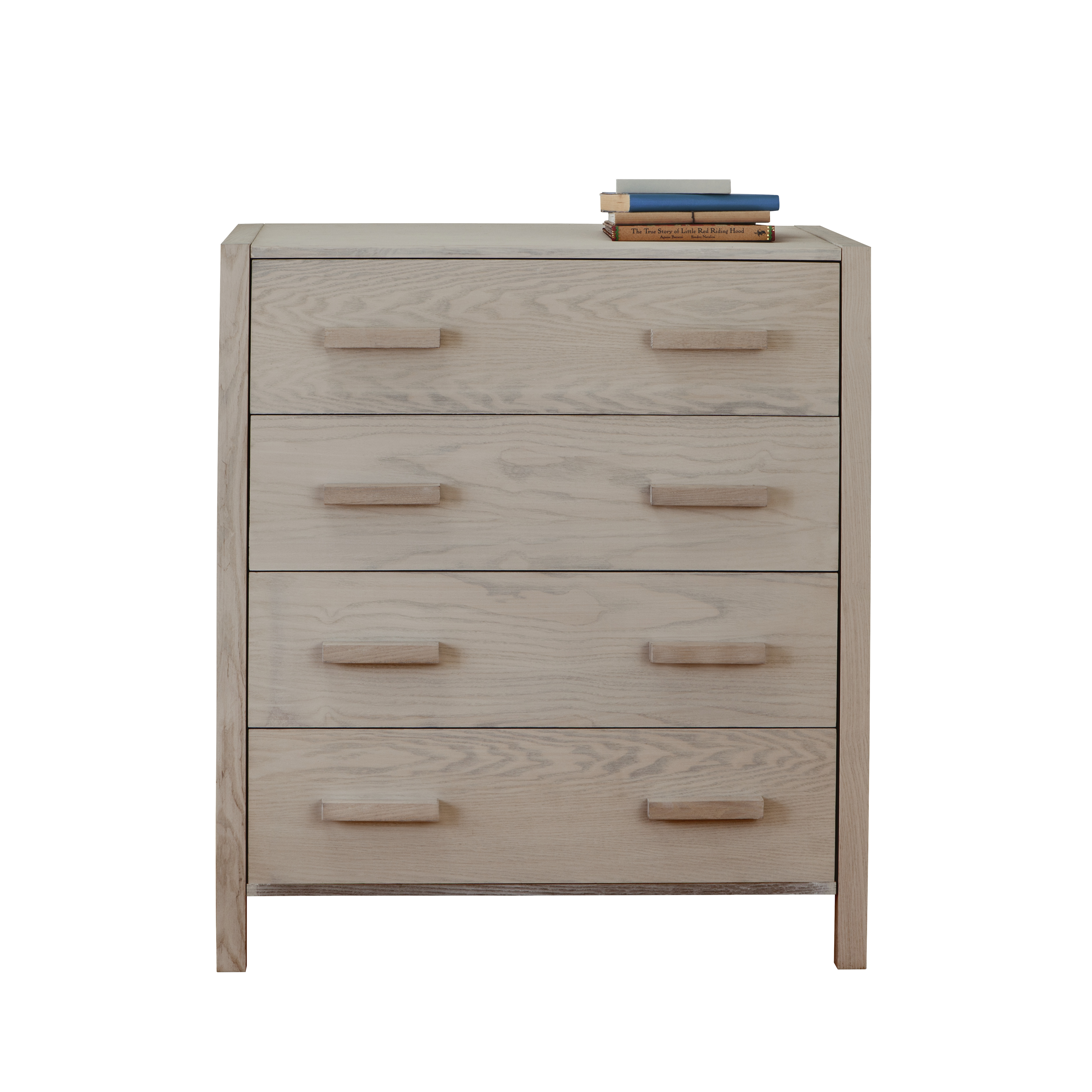 Solid Ash Bedroom Furniture Woodland Chest Of Drawers Grey Ash By Little Folks For Children