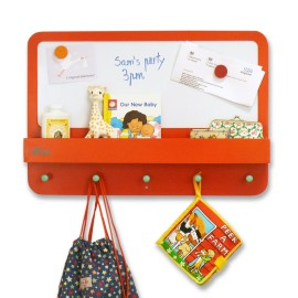 Forget Me Not Wipe Clean Noticeboard by Tidy Books for Children Organisation Red