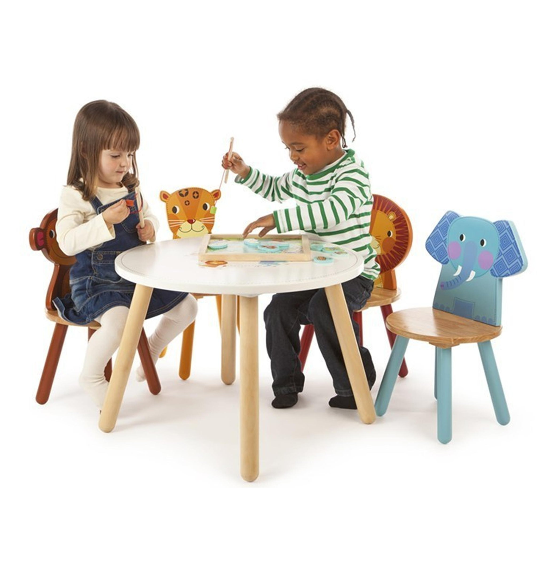 Safari Animal Play table with 4 chairs for kids in SA