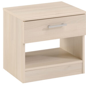 Infinity Nightstand with 1 Drawer - Acacia