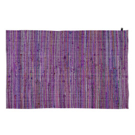 Sunset Handwoven Cotton Rug - Lilac by Lifetime Kidsrooms 8445-3 for Children