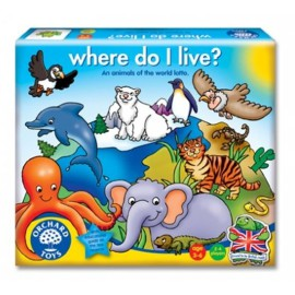 Where do I live Games for Kids Orchard Toys