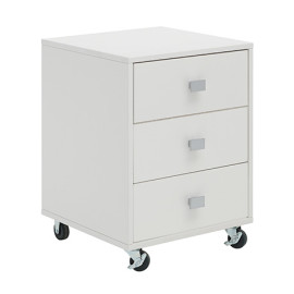 3-Drawer-Unit-on-Castors-(Solid-Wood)---White-by-Lifetime-Kidsrooms-155-10-for-desk-storage-for-kids