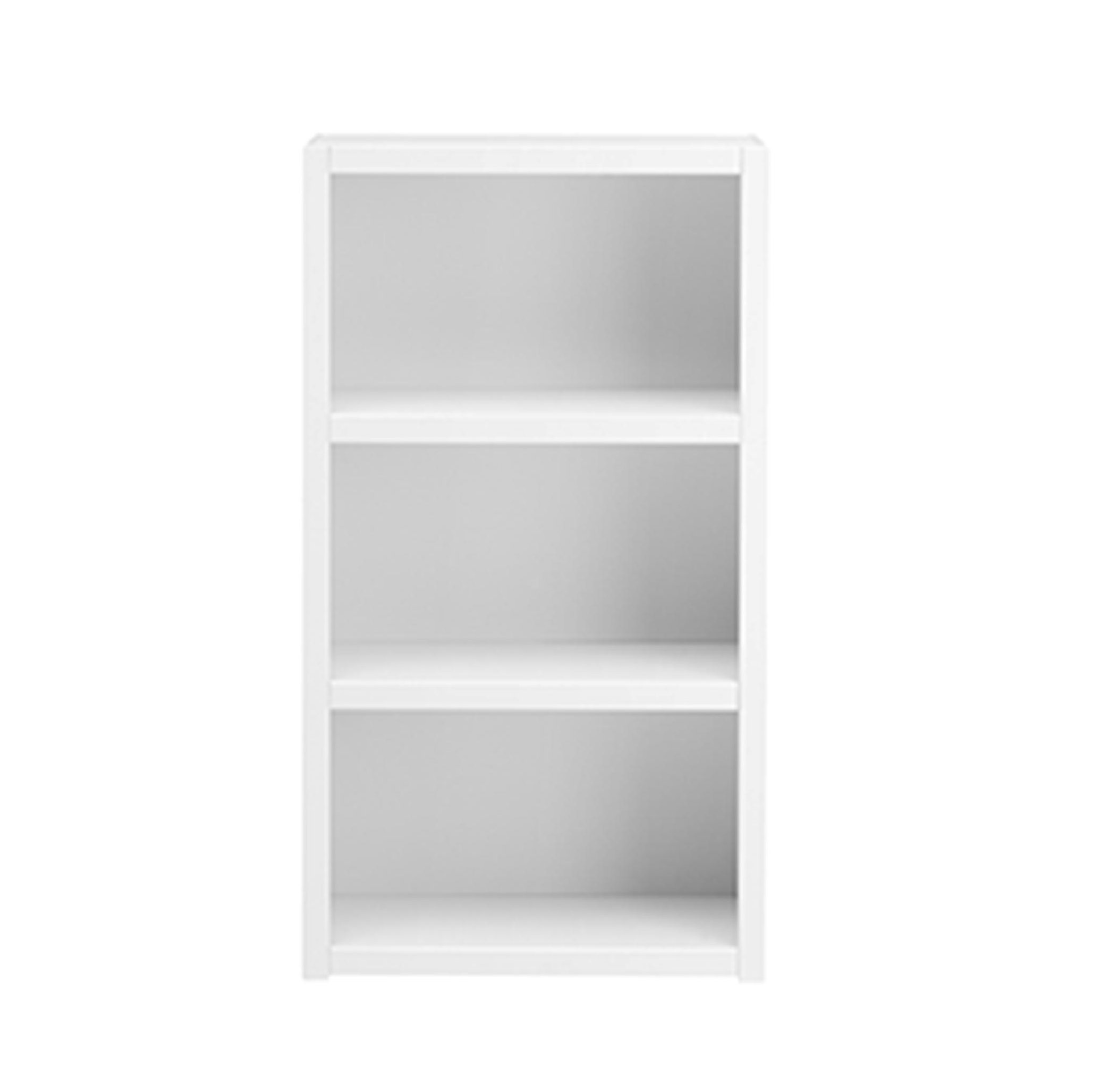 Bookcase With 2 Shelves Solid Wood