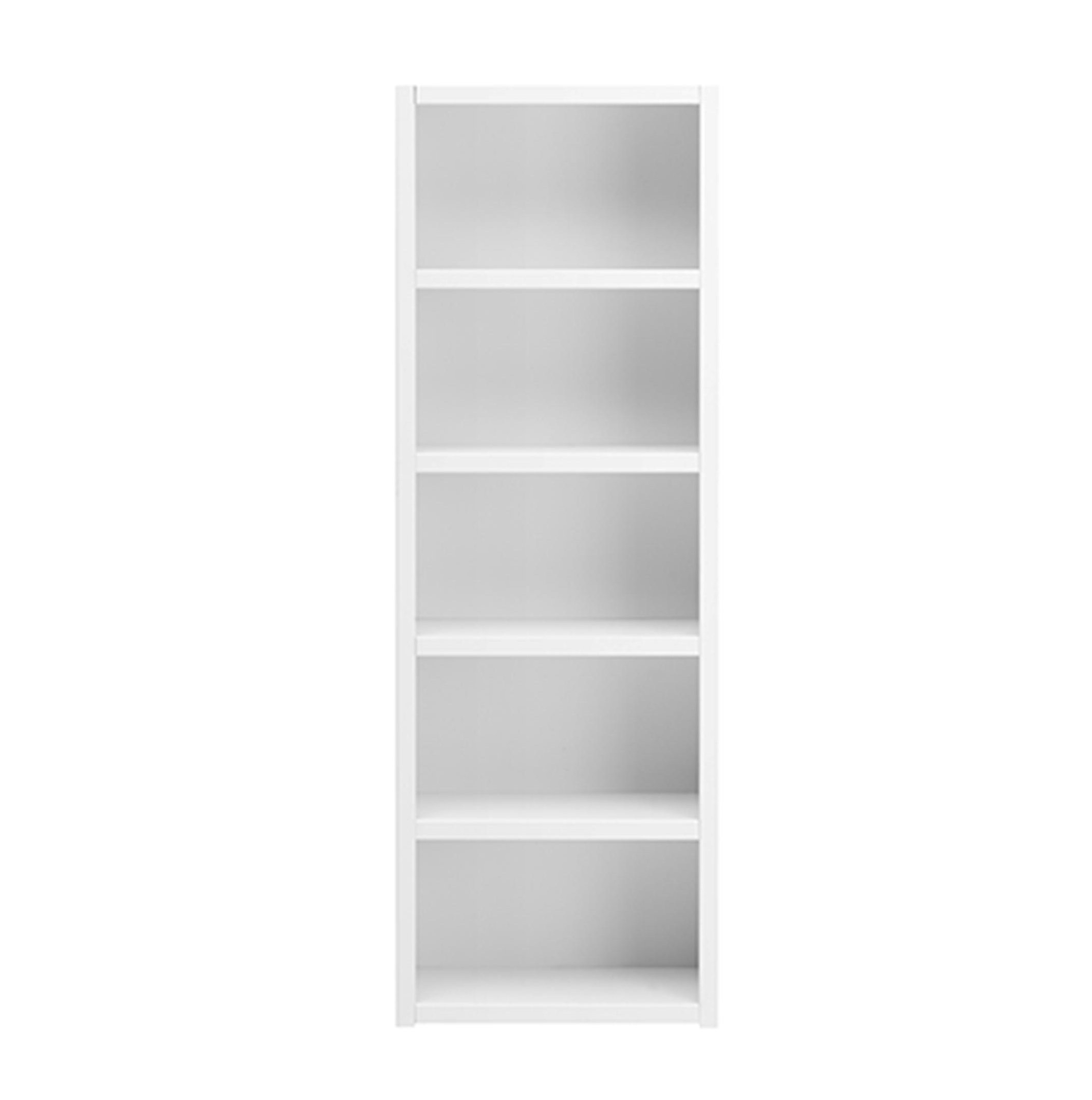 Bookcase With 4 Shelves Solid Wood