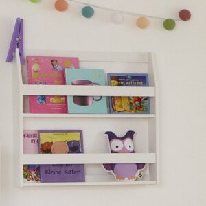 Bookrack, Solid Wood - White by Lifetime Kidsrooms