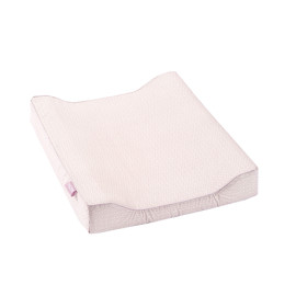 Changing Pad - Soft Pink Leaves by Lifetime Kidsrooms S75009-2 babies Nursery Girls
