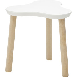 Clover Stool by Lifetime Kidsrooms White for Kids Playtable Children