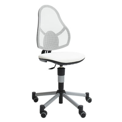 Deluxe Desk Chair- White by Lifetime Kidsrooms
