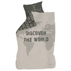 Discover The World Duvet Set (Single) by Lifetime Kidsrooms