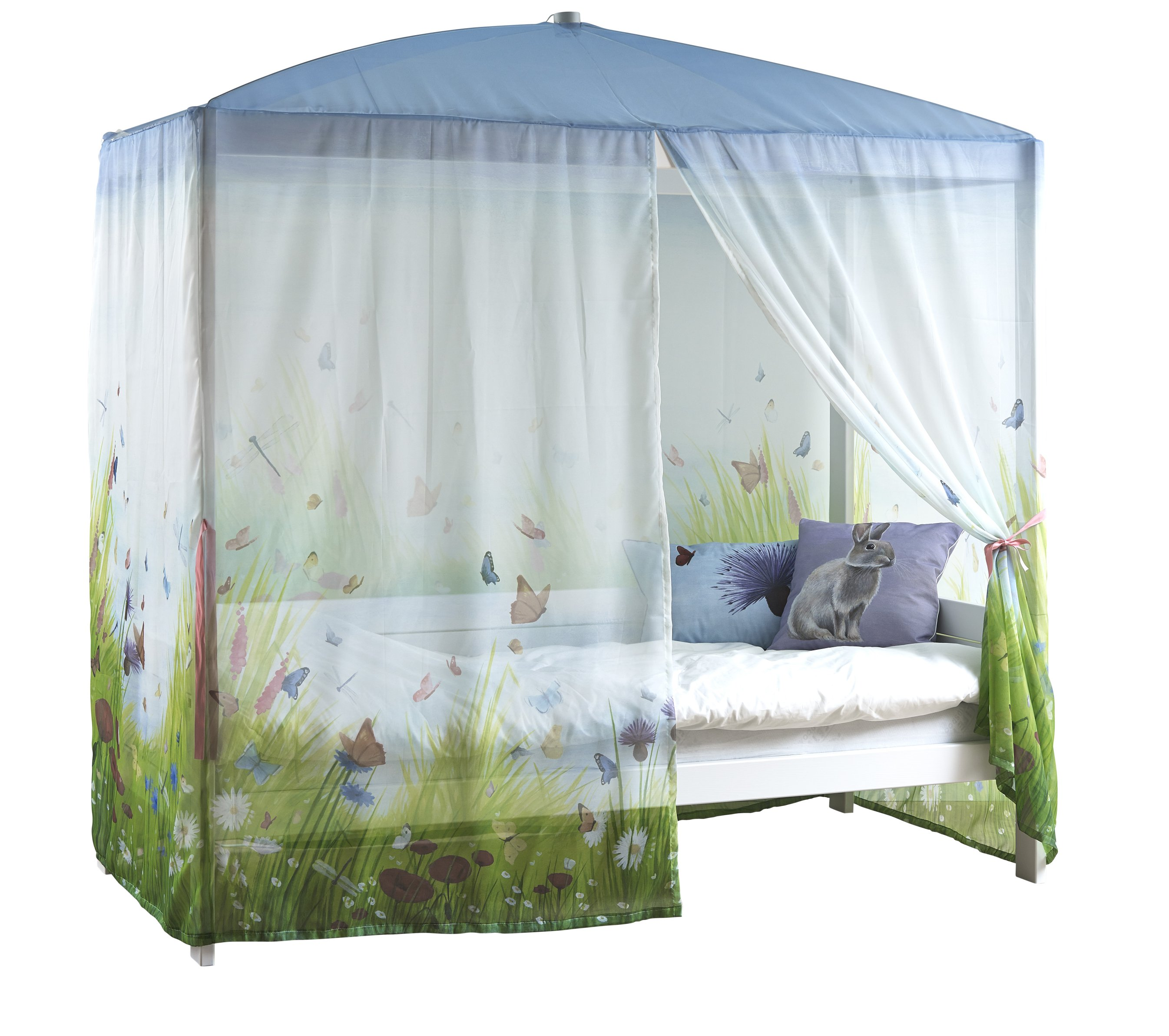 Four Poster Bed Four Poster Bed With Butterfly Love Canopy For Kids In Sa