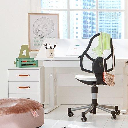 small desk- height & slant adjustable for children & kids in s.a