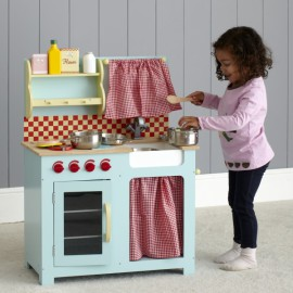 Honeybake Vintage Kitchen for Kids Wooden Toys Pretend Play Le Toy Van