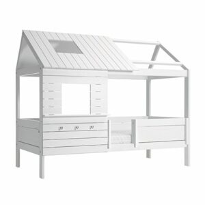 Hut Bed, Solid Wood - White  by Lifetime Kidsrooms