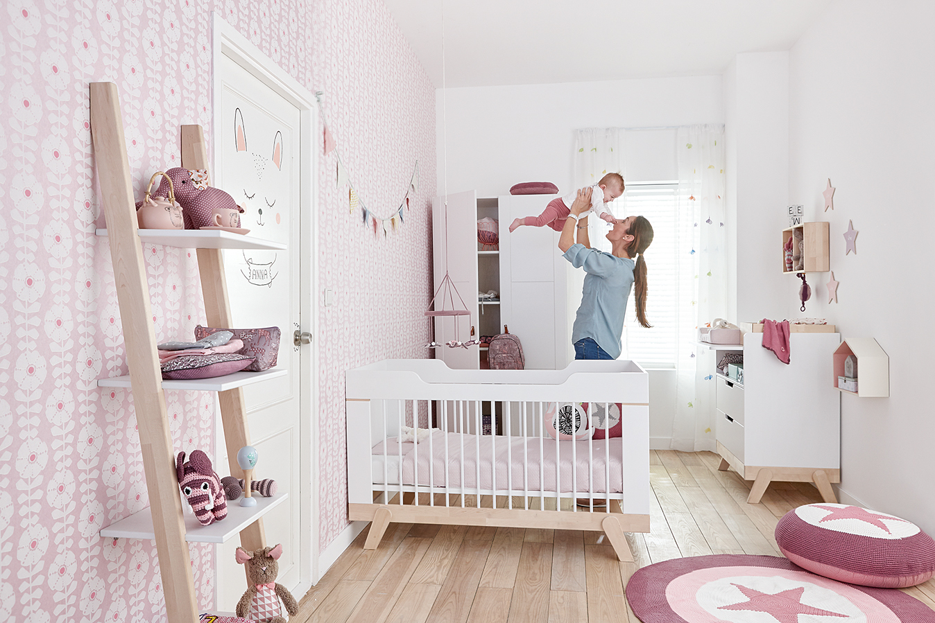 leaning bookcase with 4 shelves solid wood white by lifetime kidsrooms save r687