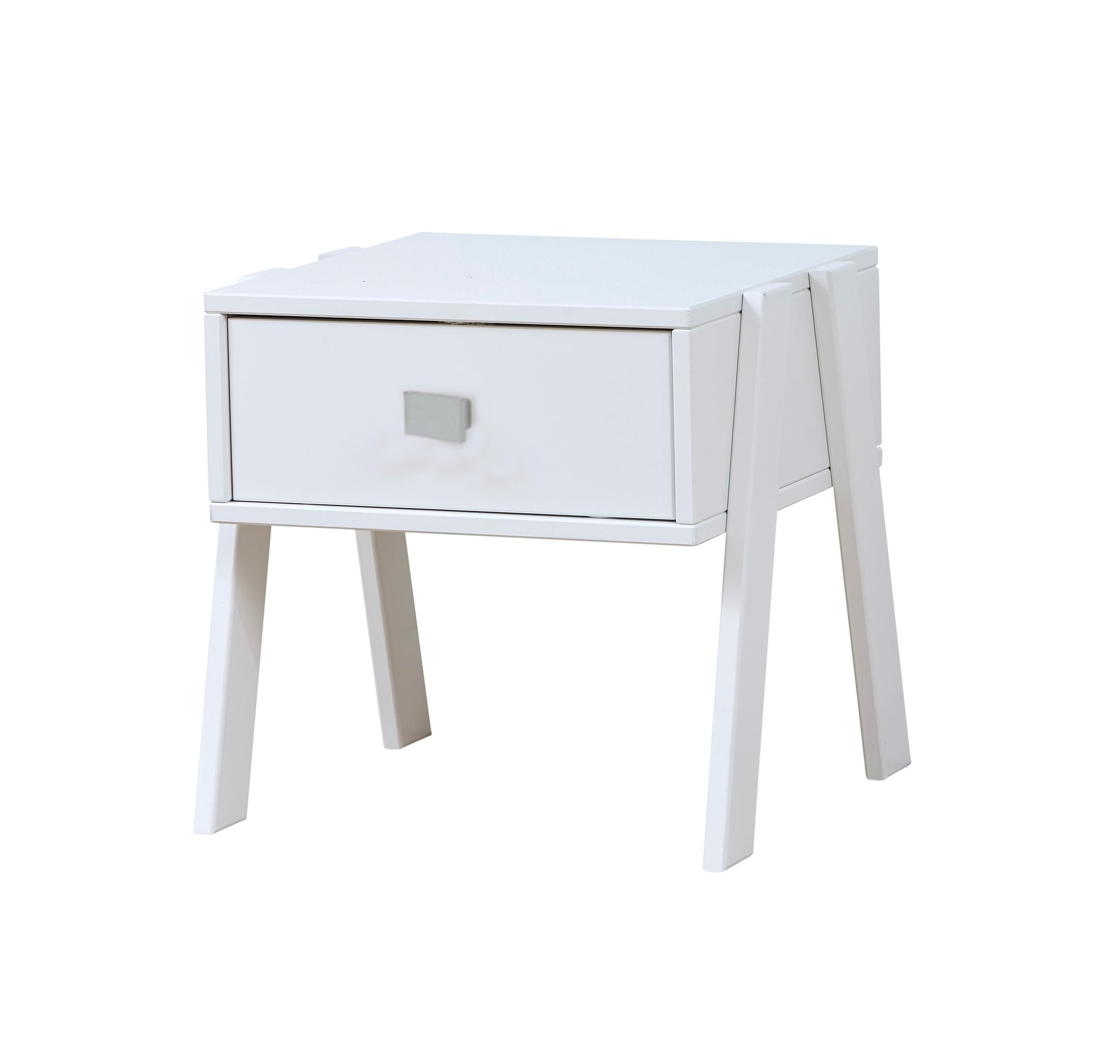 Nightstand with drawer white for children kids in s a for White wood nightstand