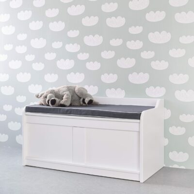 Storage Bench - White by Lifetime Kidsrooms
