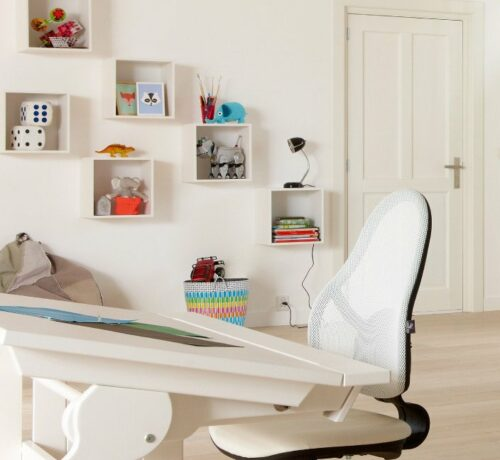 Storage Cube without Castors, Solid Wood - White by Lifetime Kidsrooms