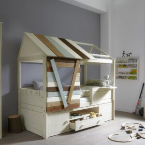 Tree House Cabin Bed, Solid Wood by Lifetime Kidsrooms