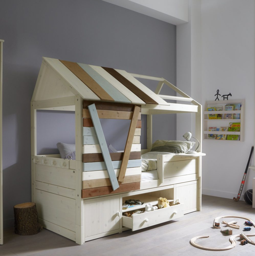Tree House Cabin Bed Solid Wood For Children In S A
